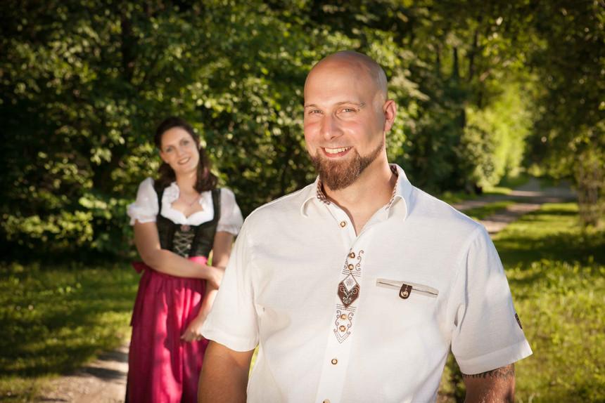 HOCHZEIT Bettina&Josef Im Freien