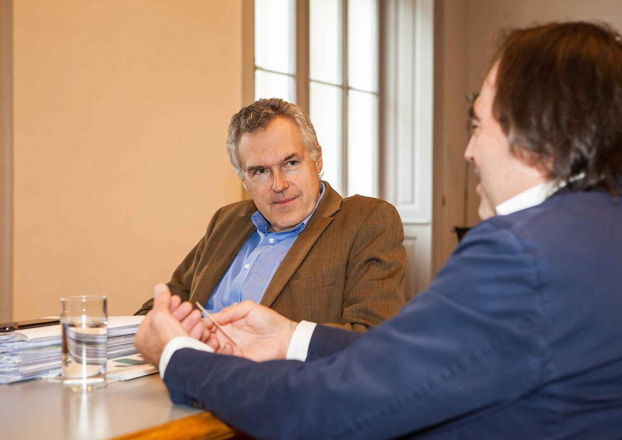 Christoph Thun-Hohenstein und Thomas Eccli