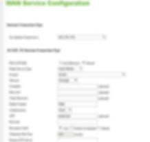 DWR-921 ממשק ניהול