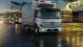 """Mercedes-Benz multi-purpose trucks """"Accello"""" and """"Atego""""..  Ideal solutions for businesses"""