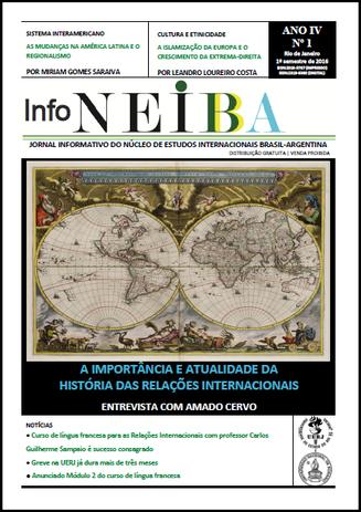 Nova edição do jornal InfoNEIBA (2016.1)
