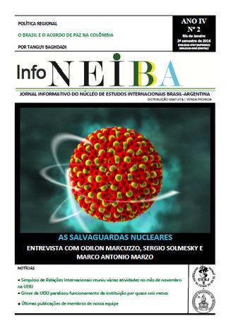 Nova edição do jornal InfoNEIBA (2016.2)