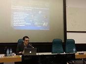 Conferência com Andrew Fishman (foto de Catherine Osborn)