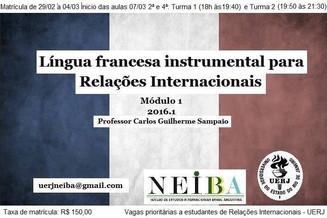 Curso de Francês Instrumental