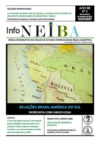 Nova edição do jornal InfoNEIBA (2015.2)