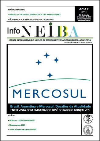 Nova edição do jornal InfoNEIBA (2017.1)