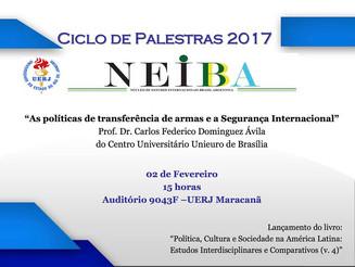 Ciclo de Palestras 2017