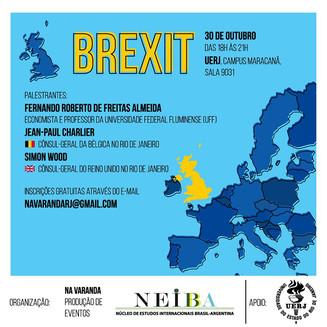 Evento na UERJ discutirá o futuro do BREXIT