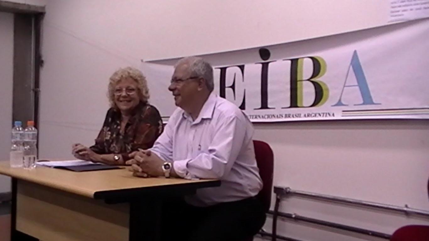 Gladys Lechini e Williams Gonçalves