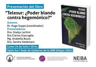 """Lançamento do livro """"TeleSUR"""""""