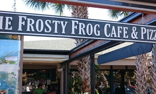 Frosty Frog Cafe & Pizza - Best Pizza Places Hilton Head