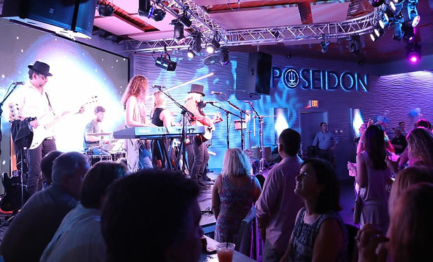 Rooftop Bar at Poseidon -  Best Places for Live Music Bands Hilton Head