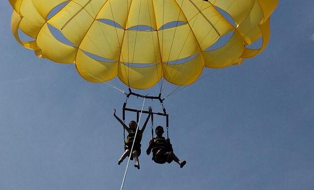 Parasailing Hilton Head Sky Pirate - Outdoor Activities Outdoor Adventure Hilton Head