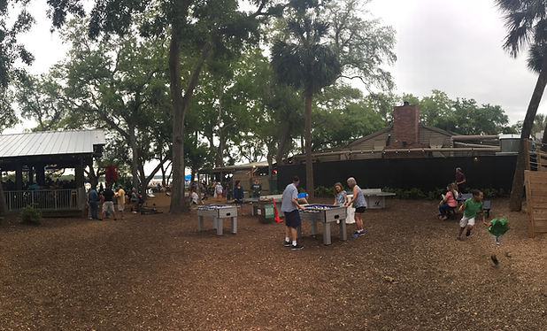 family dining, skull creek boathouse dockside hilton head island
