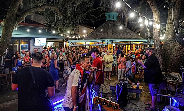 Black Marlin Hurricae Bar - Best Places for Live Music Bands Hilton Head