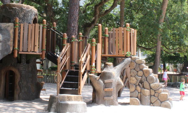 Greg Russell Harbour Town Playground Hilton Head Island