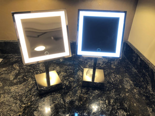 Light Up Your Holidays with Aptations Lighted Mirrors