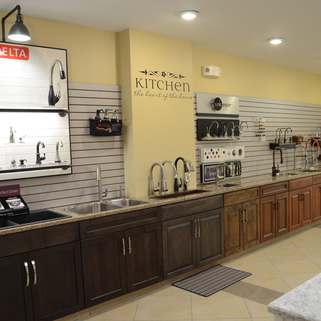 RD Henry Cabinetry Display