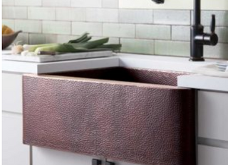 Cleaning Your Copper Sink