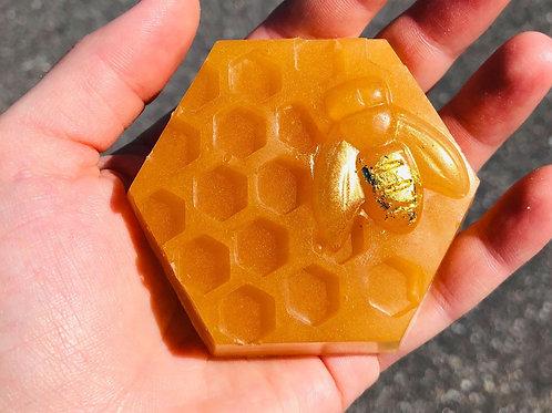 Savon - Queen bee  - Miel et or 24 carats