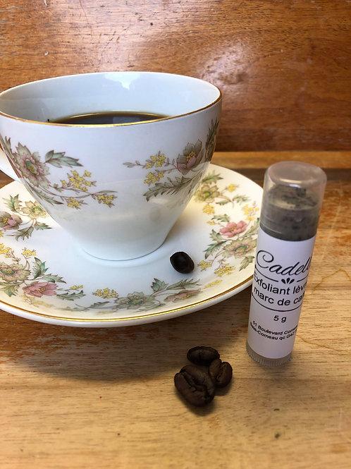 Baume à lèvres exfoliant- café moka
