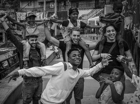 Atelier avec les jeunes de la Comuna 13