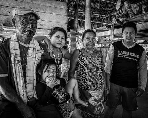 Famille Embera