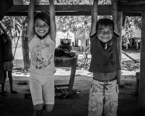 Indigènes Embera, Colombie