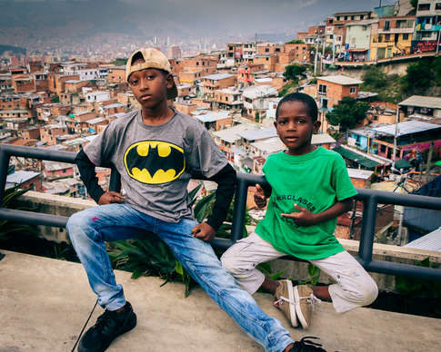 Batman à Medellin