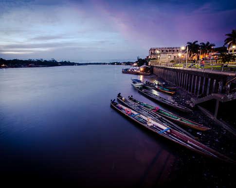 Bord du rio Atrato