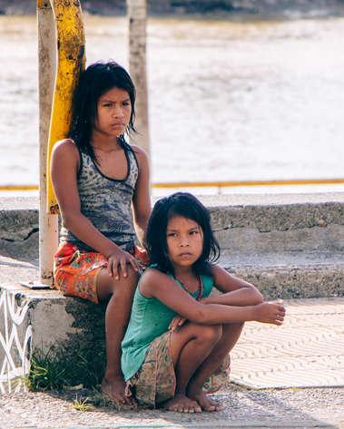 Indigenas en Quibdó