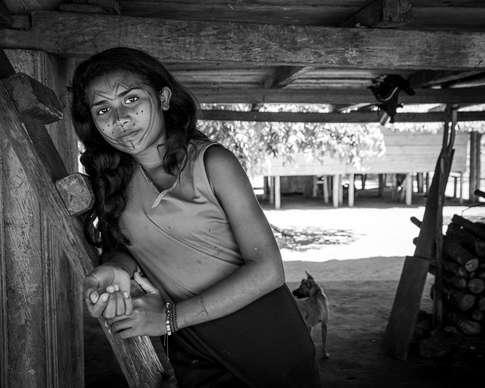 Sous la maison chez les Embera