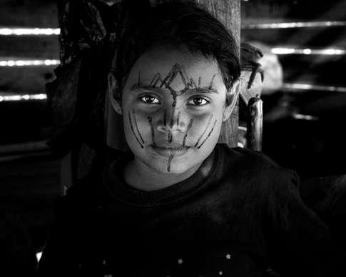 Indigène Embera, Colombie