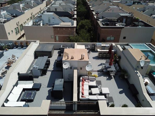 KDS Builders-Trex Composite Rooftop Deck-Dallas TX