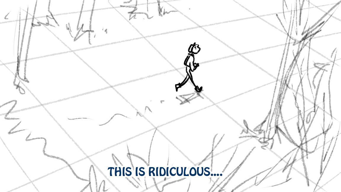 Into The Woods storyboards