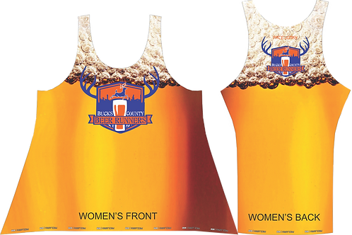 BUCKS COUNTY BEER RUNNERS WOMEN'S SINGLET