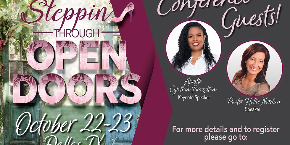 Steppin' Through Open Doors Conference 2021