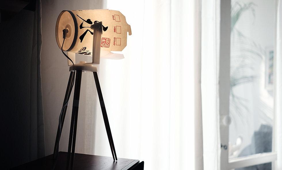 Leftover lamp N.2.