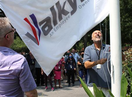 Valkyrie Flag Raising