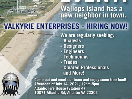 Wallops Island, VA - Hiring Event