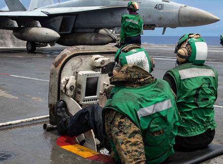 QPI/Valkyrie Display on Navy Ship