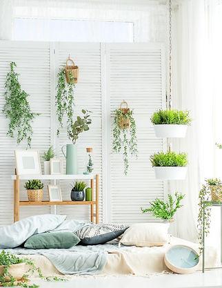 Green Trailing Hangers