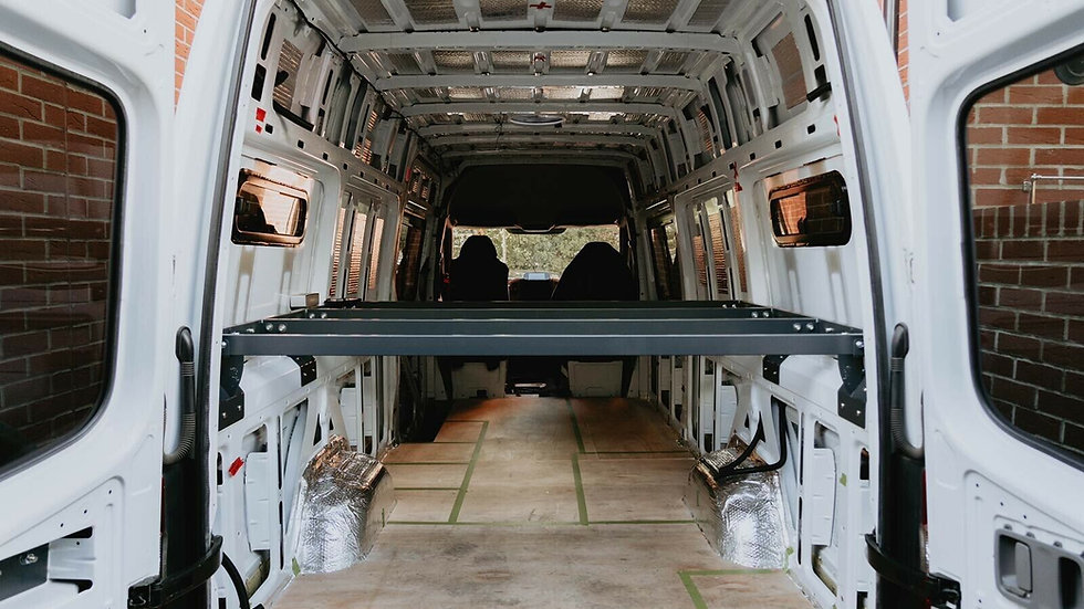 VW Crafter/Sprinter Fixed Bed Full Kit 950mm High LWB 2006-2016