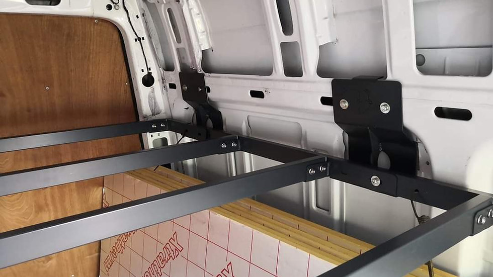 VW Crafter/Sprinter High 1350mm Bed Mounts ONLY for LWB