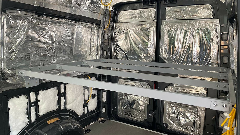VW Crafter 2017 Onwards Fixed Bed Full Kit 950mm High MWB
