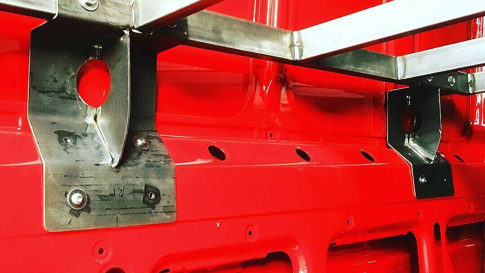 VW Crafter/Sprinter High 1350MM Bed Mounts ONLY for Fixed Bed MWB