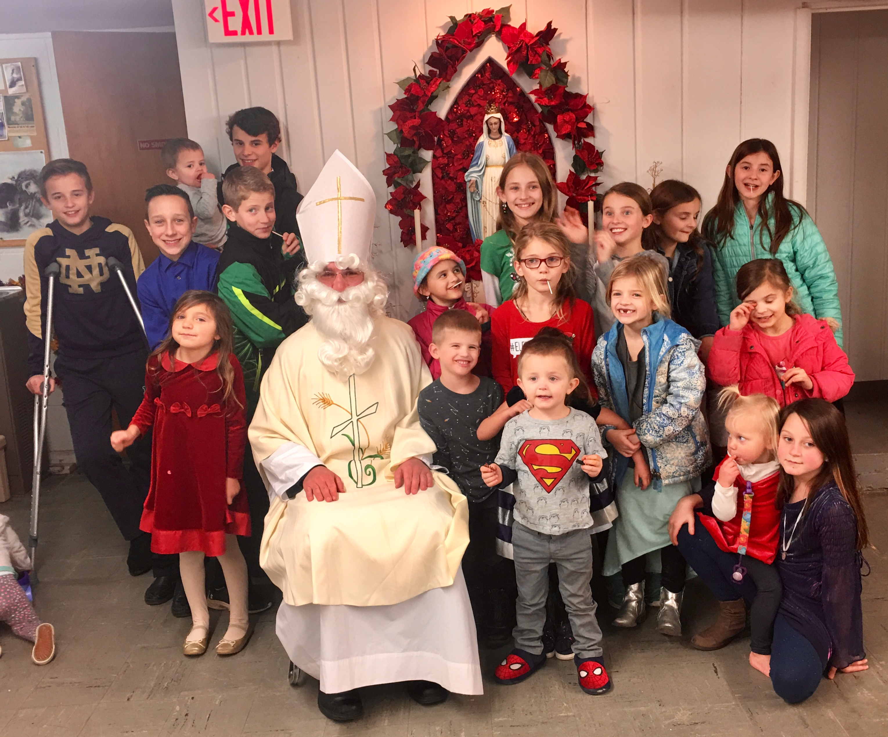 A visit from St. Nicholas!