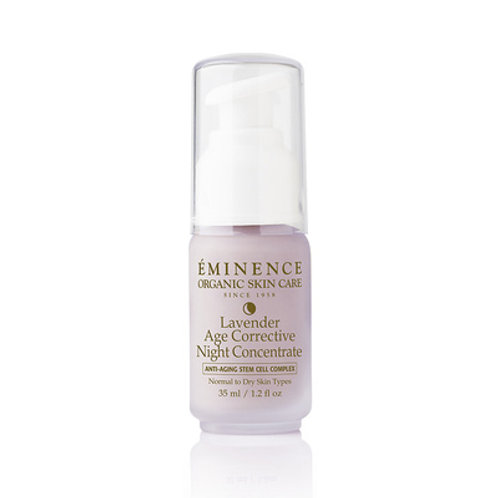 Lavender Age Corrective Night Concentrate [Potent facial concentrate]