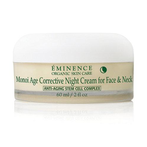 Monoi Age Corrective Night Cream for Face & Neck [Rich face, neck cream]