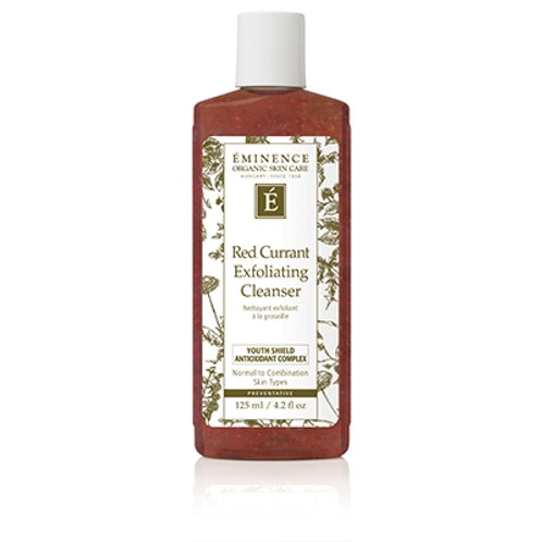 Red Currant Exfoliating Cleanser [Age preventative gel facial wash]